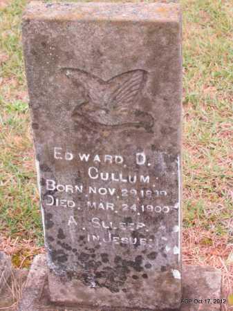 CULLUM, EDWARD P - Van Buren County, Arkansas | EDWARD P CULLUM - Arkansas Gravestone Photos