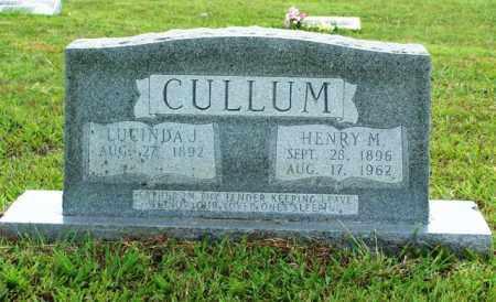 CULLUM, LUCINDA J - Van Buren County, Arkansas | LUCINDA J CULLUM - Arkansas Gravestone Photos
