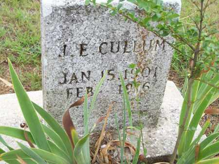 CULLUM, J E - Van Buren County, Arkansas | J E CULLUM - Arkansas Gravestone Photos