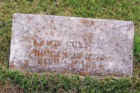 CULLUM, LEWIS - Van Buren County, Arkansas | LEWIS CULLUM - Arkansas Gravestone Photos