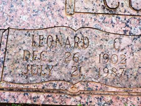CULLUM, LEONARD C  (CLOSEUP) - Van Buren County, Arkansas   LEONARD C  (CLOSEUP) CULLUM - Arkansas Gravestone Photos