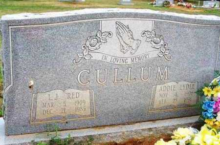 "CULLUM, L J  ""RED"" - Van Buren County, Arkansas 