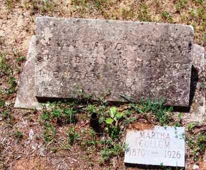CULLUM, MARTHA - Van Buren County, Arkansas   MARTHA CULLUM - Arkansas Gravestone Photos