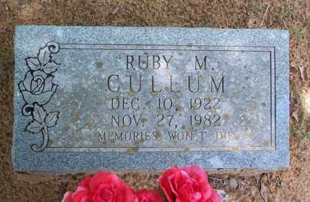 CULLUM, RUBY M - Van Buren County, Arkansas | RUBY M CULLUM - Arkansas Gravestone Photos