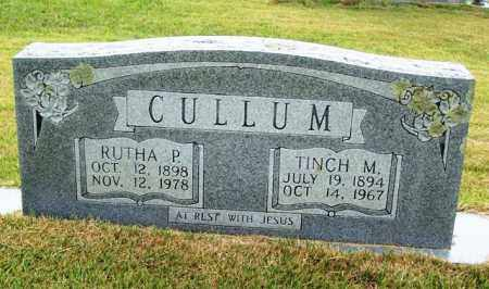 CULLUM, TINCH M - Van Buren County, Arkansas | TINCH M CULLUM - Arkansas Gravestone Photos