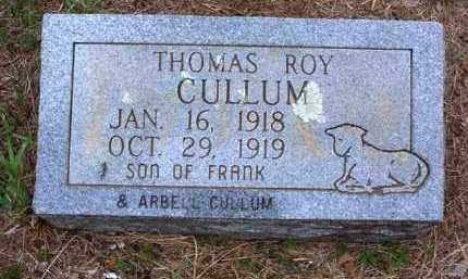 CULLUM, THOMAS ROY - Van Buren County, Arkansas | THOMAS ROY CULLUM - Arkansas Gravestone Photos
