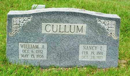 CULLUM, WILLIAM A - Van Buren County, Arkansas | WILLIAM A CULLUM - Arkansas Gravestone Photos