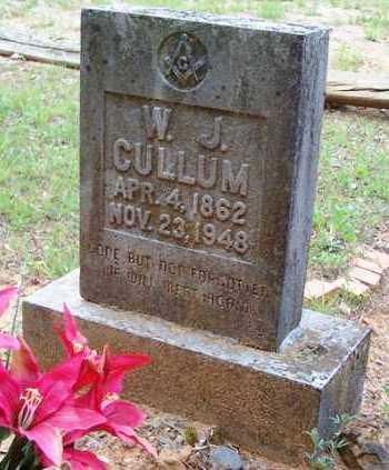 CULLUM, WILLIAM JEFFERSON - Van Buren County, Arkansas | WILLIAM JEFFERSON CULLUM - Arkansas Gravestone Photos