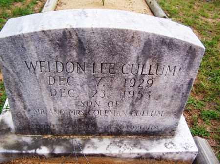 CULLUM, WELDON LEE - Van Buren County, Arkansas | WELDON LEE CULLUM - Arkansas Gravestone Photos