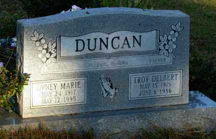 DUNCAN, OVNEY MARIE - Van Buren County, Arkansas | OVNEY MARIE DUNCAN - Arkansas Gravestone Photos