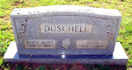 AVANTS DUSCHELL, MYRTLE - Van Buren County, Arkansas | MYRTLE AVANTS DUSCHELL - Arkansas Gravestone Photos