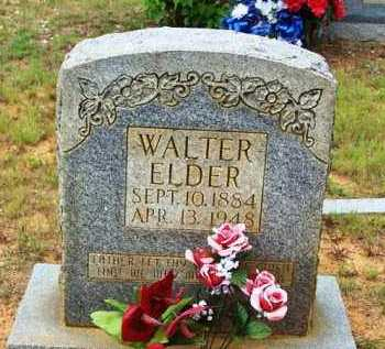 ELDER, WALTER - Van Buren County, Arkansas | WALTER ELDER - Arkansas Gravestone Photos