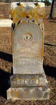 EOFF, JOHN D - Van Buren County, Arkansas | JOHN D EOFF - Arkansas Gravestone Photos