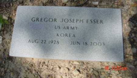 ESSER (VETERAN KOR), GREGOR JOSEPH - Van Buren County, Arkansas | GREGOR JOSEPH ESSER (VETERAN KOR) - Arkansas Gravestone Photos