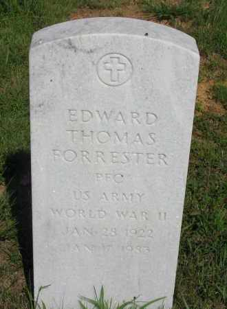 FORRESTER (VETERAN WWII), EDWARD THOMAS - Van Buren County, Arkansas | EDWARD THOMAS FORRESTER (VETERAN WWII) - Arkansas Gravestone Photos