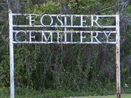 *FOSTER CEMETERY SIGN,  - Van Buren County, Arkansas |  *FOSTER CEMETERY SIGN - Arkansas Gravestone Photos