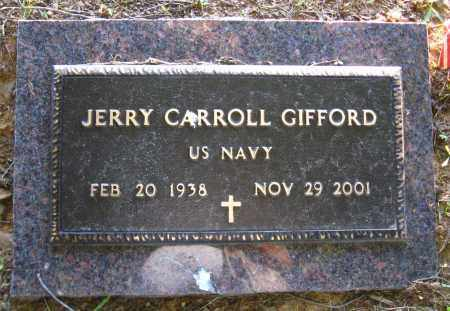 GIFFORD  (VETERAN), JERRY CARROLL - Van Buren County, Arkansas | JERRY CARROLL GIFFORD  (VETERAN) - Arkansas Gravestone Photos