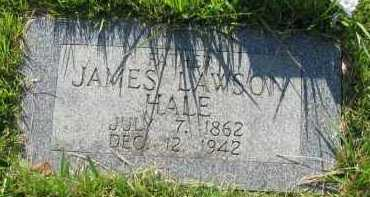 HALE, JAMES LAWSON - Van Buren County, Arkansas | JAMES LAWSON HALE - Arkansas Gravestone Photos