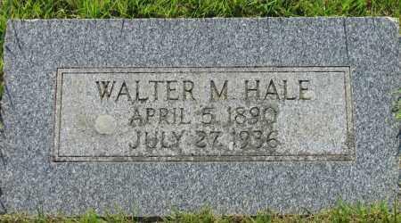 HALE, WALTER M - Van Buren County, Arkansas | WALTER M HALE - Arkansas Gravestone Photos