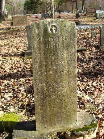 HALL (VETERAN WWI), WILLIAM BEN - Van Buren County, Arkansas | WILLIAM BEN HALL (VETERAN WWI) - Arkansas Gravestone Photos