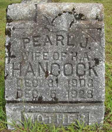 HANCOCK, PEARL J - Van Buren County, Arkansas | PEARL J HANCOCK - Arkansas Gravestone Photos
