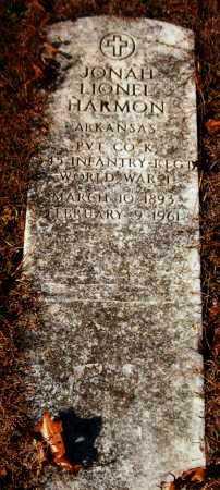 HARMON  (VETERAN WWI), JONAH LIONEL - Van Buren County, Arkansas | JONAH LIONEL HARMON  (VETERAN WWI) - Arkansas Gravestone Photos