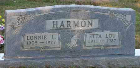 HARMON, ETTA LOU - Van Buren County, Arkansas | ETTA LOU HARMON - Arkansas Gravestone Photos