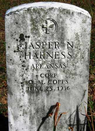 HARNESS  (VETERAN), JASPER N - Van Buren County, Arkansas | JASPER N HARNESS  (VETERAN) - Arkansas Gravestone Photos