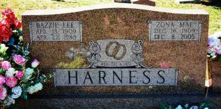 HARNESS, BAZZIE LEE - Van Buren County, Arkansas | BAZZIE LEE HARNESS - Arkansas Gravestone Photos