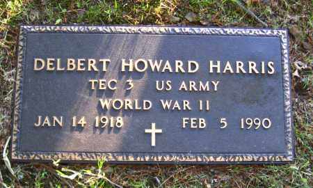 HARRIS  (VETERAN WWII), DELBERT HOWARD - Van Buren County, Arkansas | DELBERT HOWARD HARRIS  (VETERAN WWII) - Arkansas Gravestone Photos