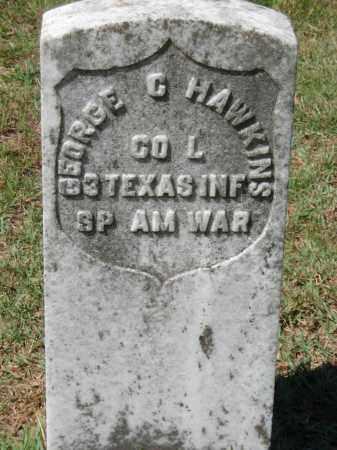 HAWKINS  (VETERAN SAW), GEORGE G - Van Buren County, Arkansas | GEORGE G HAWKINS  (VETERAN SAW) - Arkansas Gravestone Photos