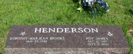 HENDERSON, ROY JAMES - Van Buren County, Arkansas | ROY JAMES HENDERSON - Arkansas Gravestone Photos
