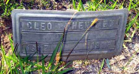 HENSLEY, CLEO - Van Buren County, Arkansas | CLEO HENSLEY - Arkansas Gravestone Photos