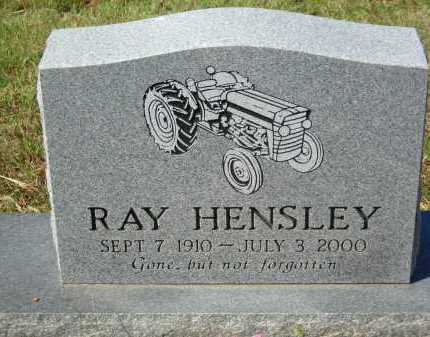 HENSLEY, RAY - Van Buren County, Arkansas | RAY HENSLEY - Arkansas Gravestone Photos