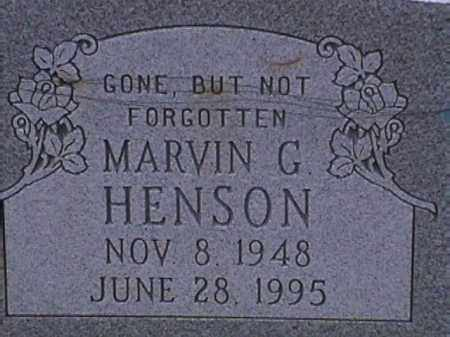 HENSON, MARVIN G. - Van Buren County, Arkansas | MARVIN G. HENSON - Arkansas Gravestone Photos