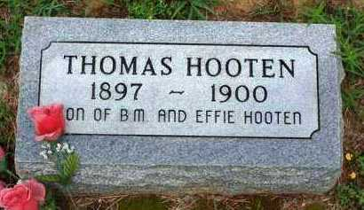 HOOTEN, THOMAS - Van Buren County, Arkansas | THOMAS HOOTEN - Arkansas Gravestone Photos