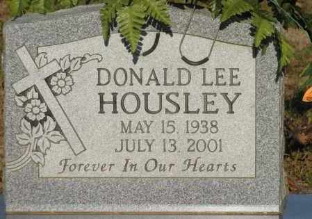 HOUSLEY, DONALD LEE - Van Buren County, Arkansas | DONALD LEE HOUSLEY - Arkansas Gravestone Photos