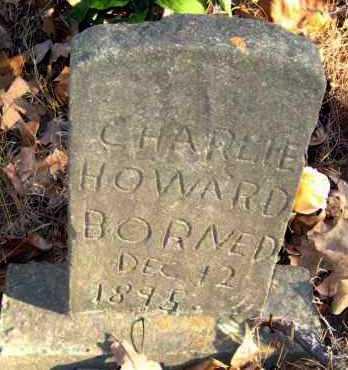 HOWARD, CHARLIE - Van Buren County, Arkansas | CHARLIE HOWARD - Arkansas Gravestone Photos
