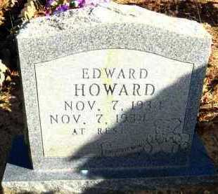 HOWARD, EDWARD - Van Buren County, Arkansas | EDWARD HOWARD - Arkansas Gravestone Photos