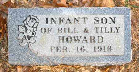 HOWARD, INFANT SON - Van Buren County, Arkansas | INFANT SON HOWARD - Arkansas Gravestone Photos