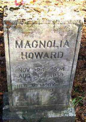 HOWARD, MAGNOLIA - Van Buren County, Arkansas | MAGNOLIA HOWARD - Arkansas Gravestone Photos