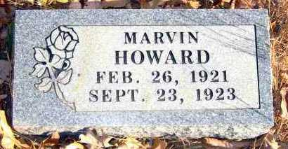 HOWARD, MARVIN - Van Buren County, Arkansas | MARVIN HOWARD - Arkansas Gravestone Photos