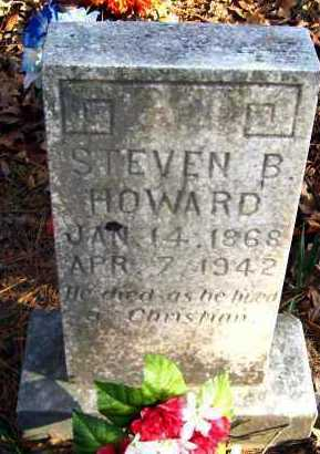 HOWARD, STEVEN B - Van Buren County, Arkansas | STEVEN B HOWARD - Arkansas Gravestone Photos