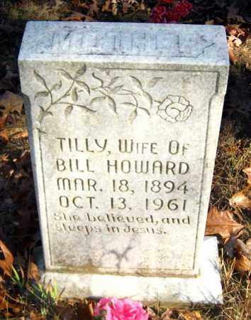 HOWARD, TILLY - Van Buren County, Arkansas | TILLY HOWARD - Arkansas Gravestone Photos