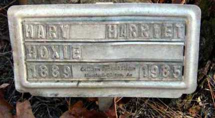 HOXIE, MARY HARRIET - Van Buren County, Arkansas | MARY HARRIET HOXIE - Arkansas Gravestone Photos