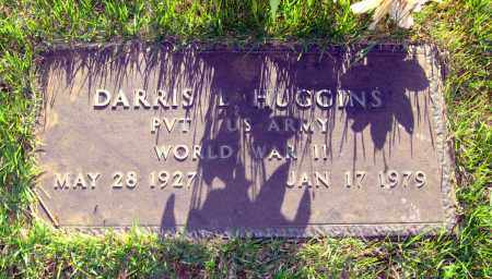 HUGGINS  (VETERAN WWII), DARRIS L - Van Buren County, Arkansas | DARRIS L HUGGINS  (VETERAN WWII) - Arkansas Gravestone Photos