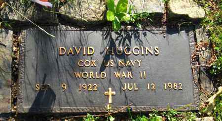 HUGGINS  (VETERAN WWII), DAVID - Van Buren County, Arkansas | DAVID HUGGINS  (VETERAN WWII) - Arkansas Gravestone Photos