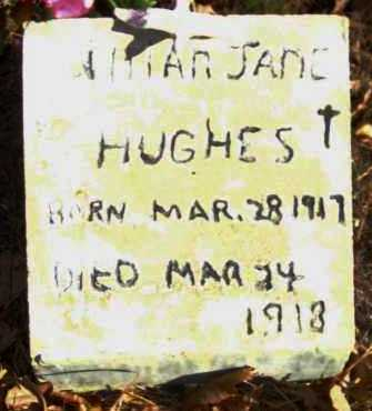 HUGHS, LILLIAN JANE - Van Buren County, Arkansas | LILLIAN JANE HUGHS - Arkansas Gravestone Photos