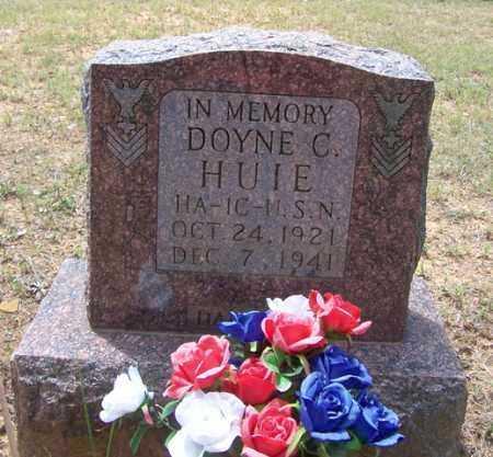 HUIE (VETERAN WWII, KIA), DOYNE CONLEY - Van Buren County, Arkansas | DOYNE CONLEY HUIE (VETERAN WWII, KIA) - Arkansas Gravestone Photos