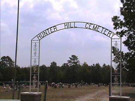*HUNTER HILL CEMETERY GATE,  - Van Buren County, Arkansas |  *HUNTER HILL CEMETERY GATE - Arkansas Gravestone Photos